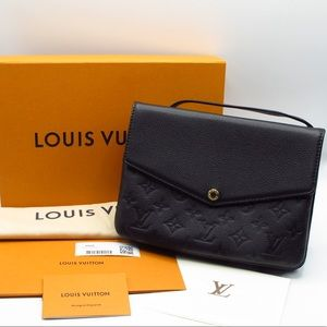 💎 RARE Louis Vuitton Twinset Twice Empreinte Noir